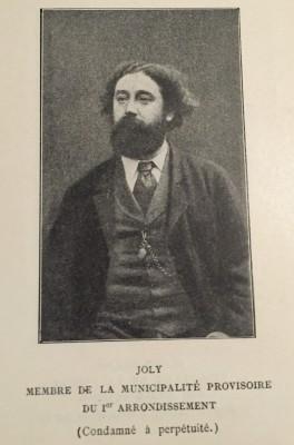 Maurice Joly, L'Invasion, Le siege, La Commune
