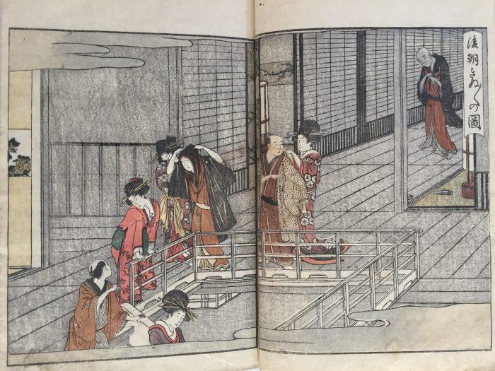 Utamaro. Seiro ehon nenju gyoji (A Picture Book of Annual Events in Yoshiwara). 1804.
