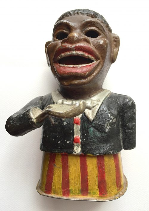 Negro money box.